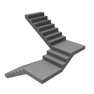 180 Quarter Turn Curved Staircase design