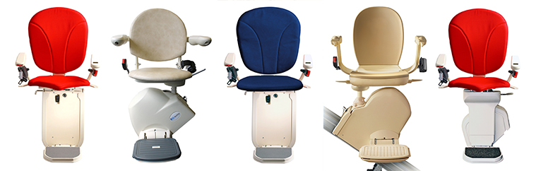 New and reconditioned chair lifts straight or curved Stairlifts to buy or rent in the UK