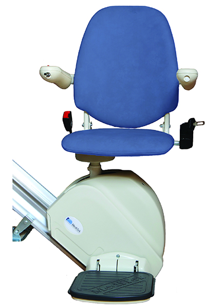 MediTek D120 straight stairlift from Central Mobility