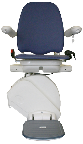 Meditek D160 straight stairlift from central mobility