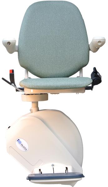 MediTek D160 straight stairlift central mobility