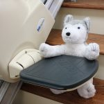 Meditek stairlift footrest safety edge