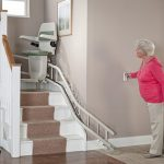 stannah curved stairlift operating remotely
