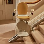 brooks stairlifts are easily moved by remote controls