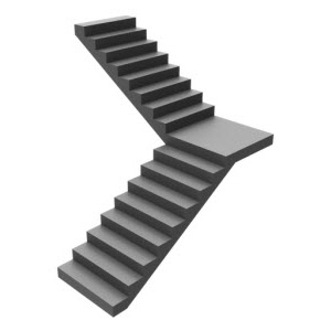 Single Bend Curved Staircase design