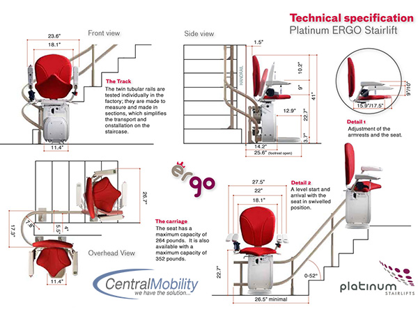 Platinum-curved-stairlift-ergo-specifications
