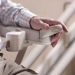 stannah curved stairlift paddle control