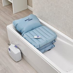 Inflatable bathing cushion from Central Mobility