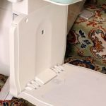 Bison bede 50 straight stairlift footrest