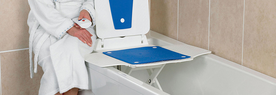 bathing products including bath lifts, bath boards, bathing cushions and bath seats from Central Mobility