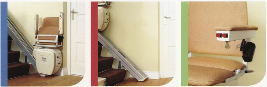 Liftable cumbria straight stairlift