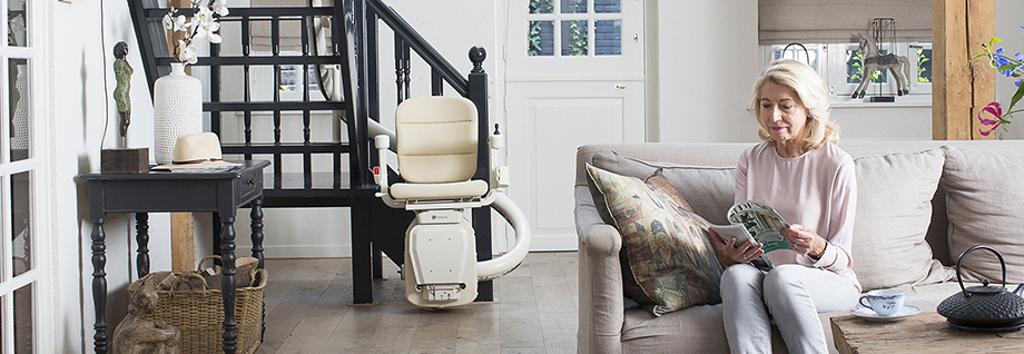 Handicare Freelift Freecurve curved stairlifts