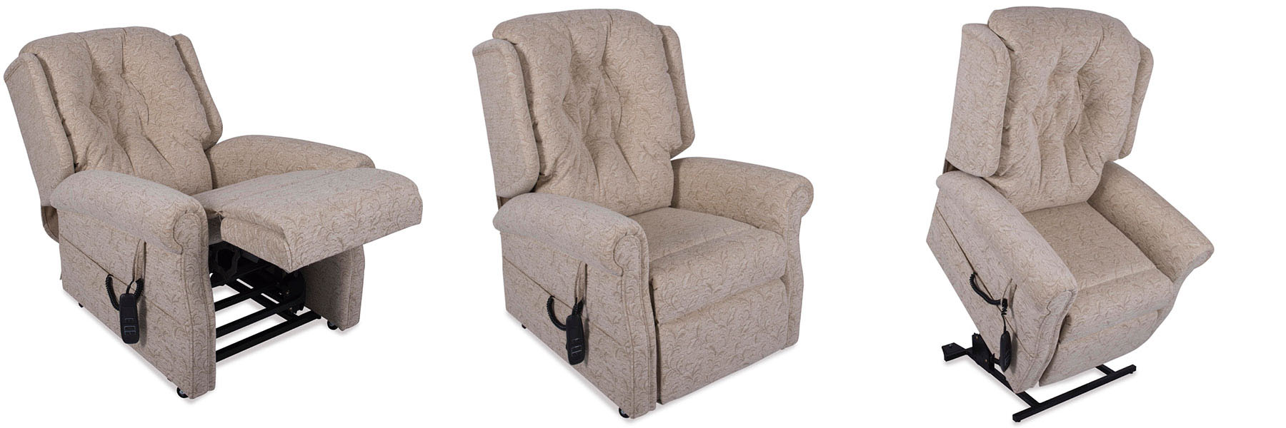 The Hampton rise and recliner chair