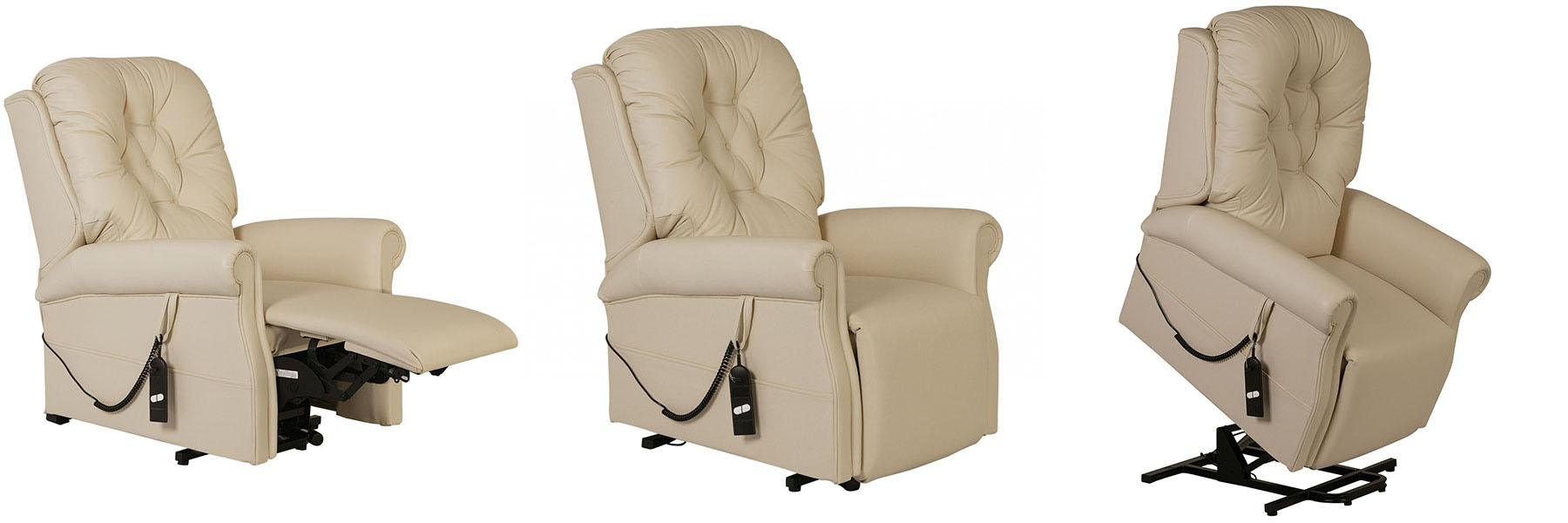 The Regal rise and recliner chair