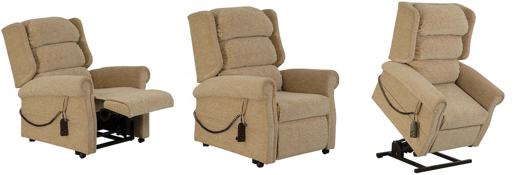 The Royal rise and recliner chair