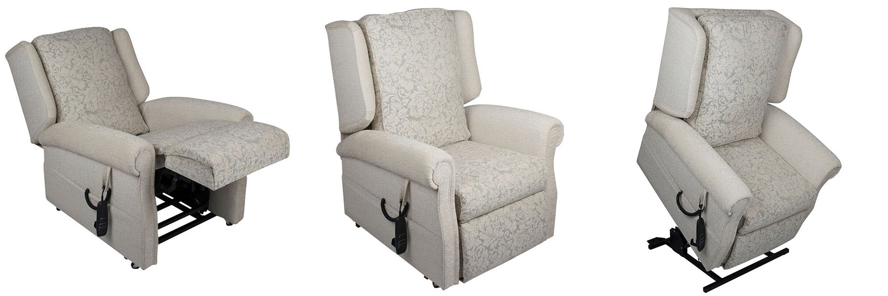 The Sandringham rise and recliner chairs