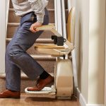 Acorn stairlifts have a slimline design