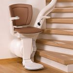 Otolift one new curved stairlift