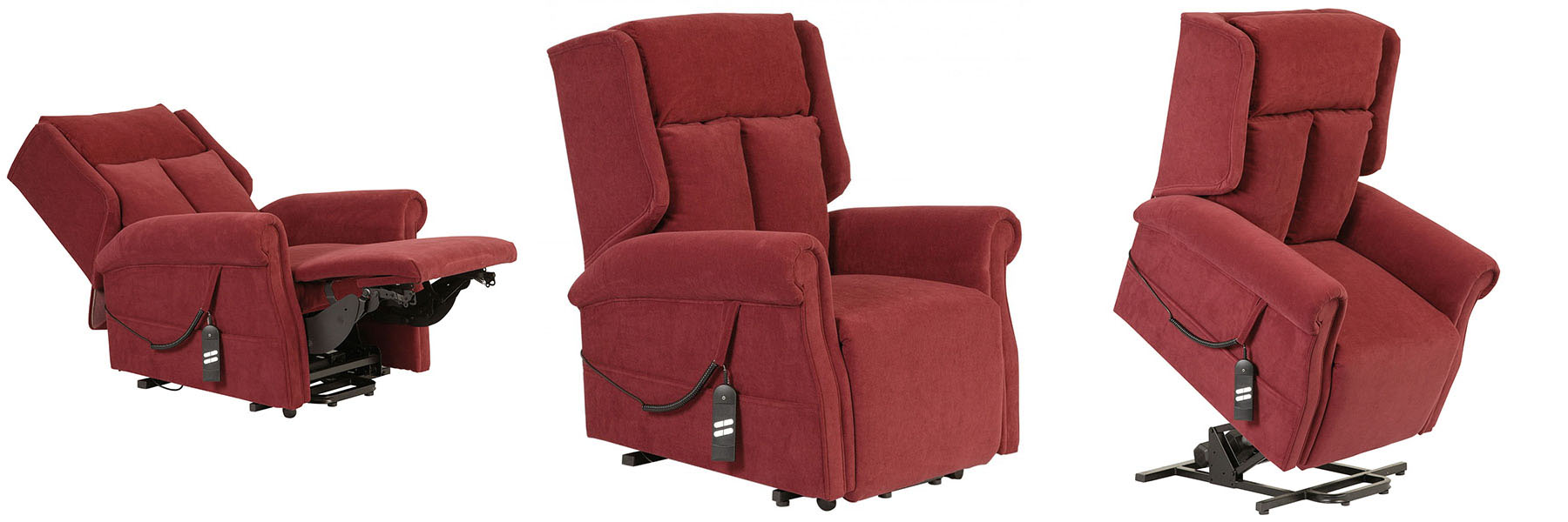 The T-Back rise and recliner chair