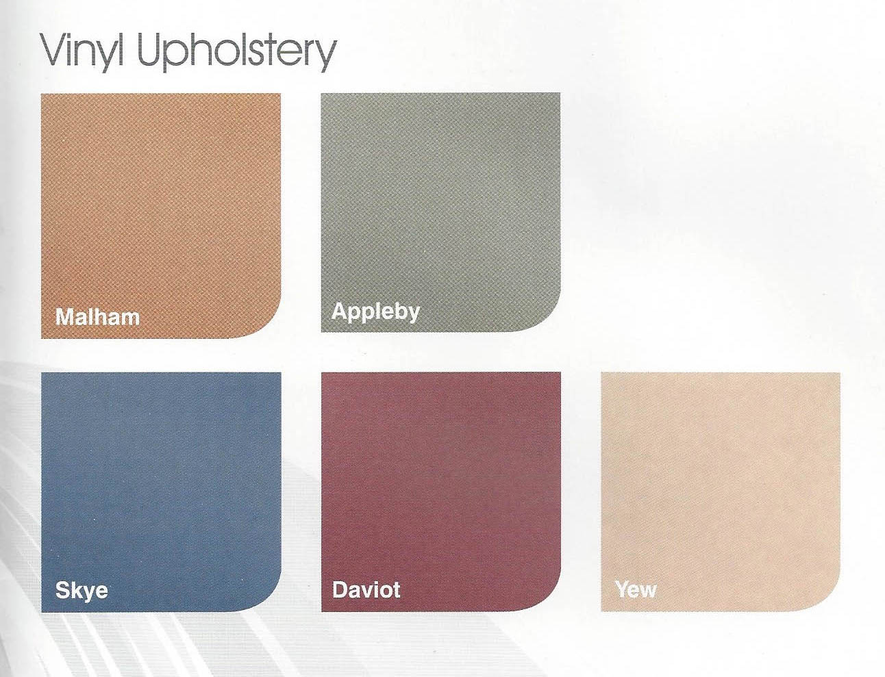 liftable cumbria upholstery colours