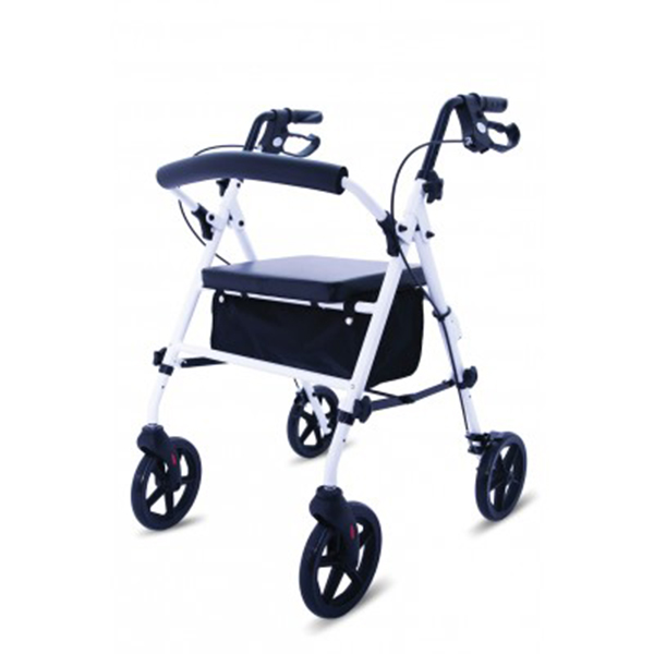 lightweight folding 4 wheeled rollator