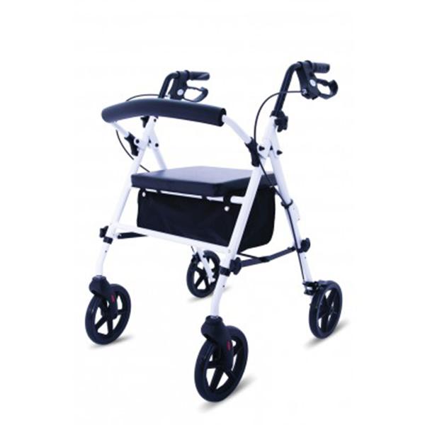 lightweight folding 4 wheeled rollator
