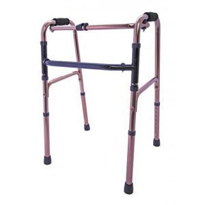 lightweight folding zimmer walking frame from Central Mobility