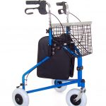 Steel 3 wheeled tri-walker from Central Mobility