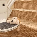 Handicare straight stairlift safety edge
