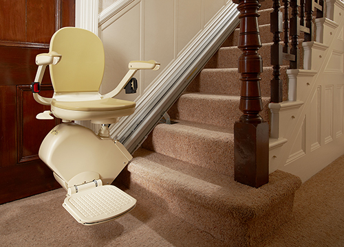 Stairlift rental Leicester from Central Mobility