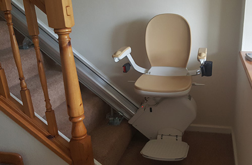 rental stairlifts from central mobility in Leicester