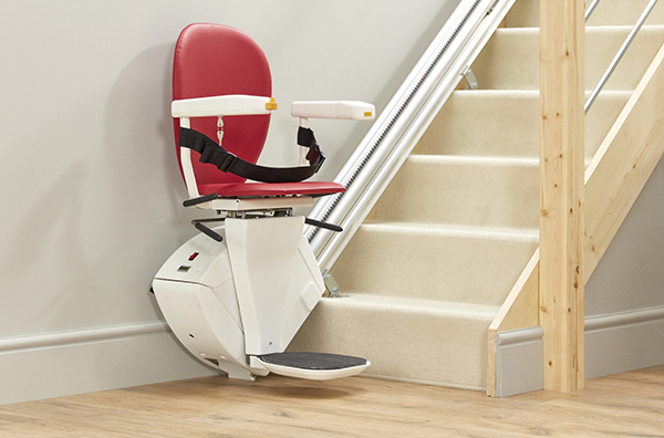The new Bespoke Synergy straight stairlift from Central Mobility