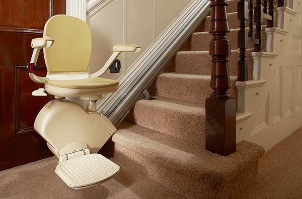 Brooks 130 straight stairlift from Central Mobility