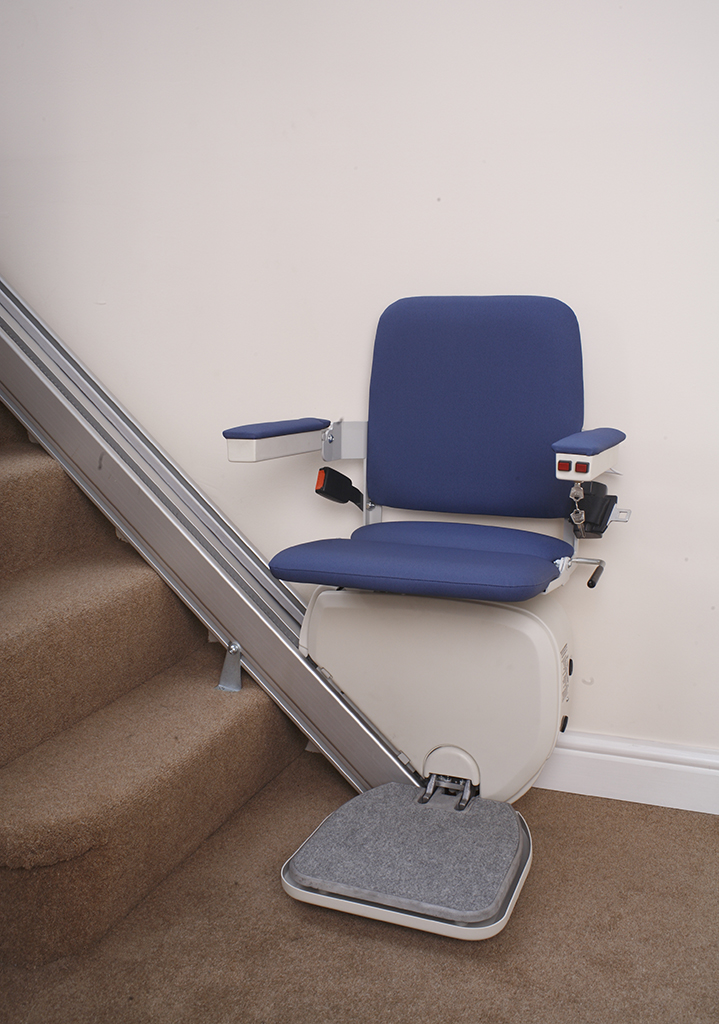 Reconditioned straight stairlifts from Central Mobility