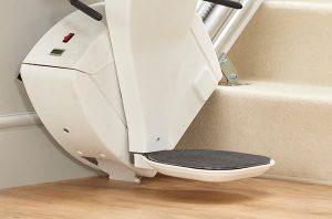 Bespoke Synergy footrest safety edges