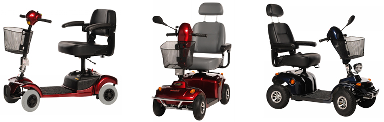 Pre-owned mobility scooters from Central Mobility