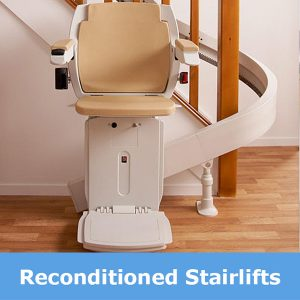 Reconditioned stairlifts supplied in Leicester from Central Mobility