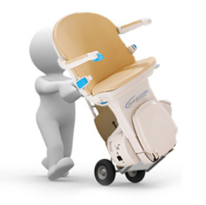 Stairlift removals provided in Leicester from Central Mobility