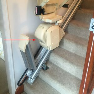 Brooks stairlift Serial Number Location