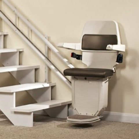 Eco reconditioned stannah curved stairlift from Central Mobility