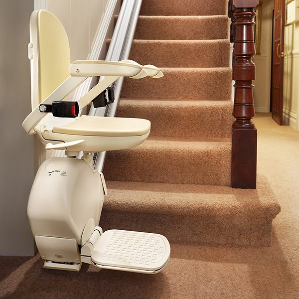 New straight stairlifts from Central Mobility