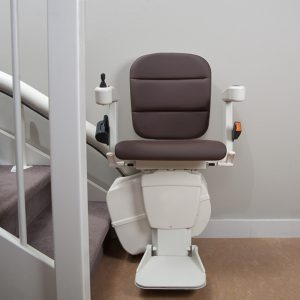 Handicare freecurve new curved stairlifts from Central Mobility