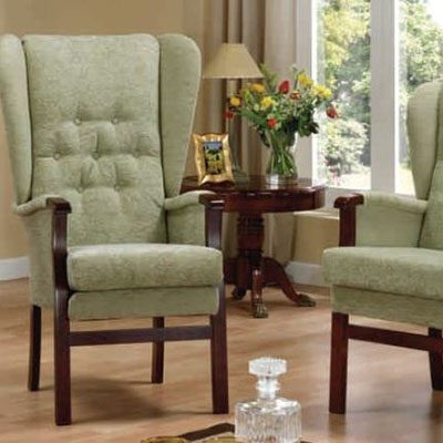 Lancaster & preston fireside chair from central mobility