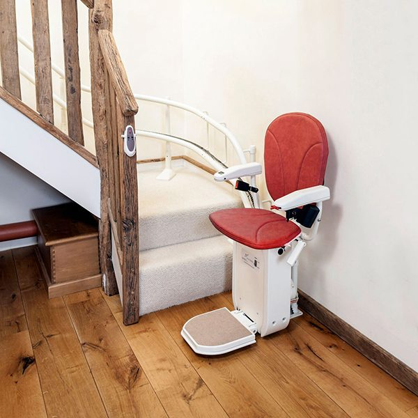New Platinum curved stairlifts from Central Mobility