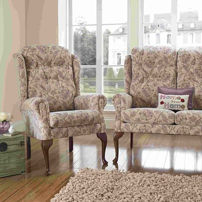 Warwick & marlow fireside chair from central mobility
