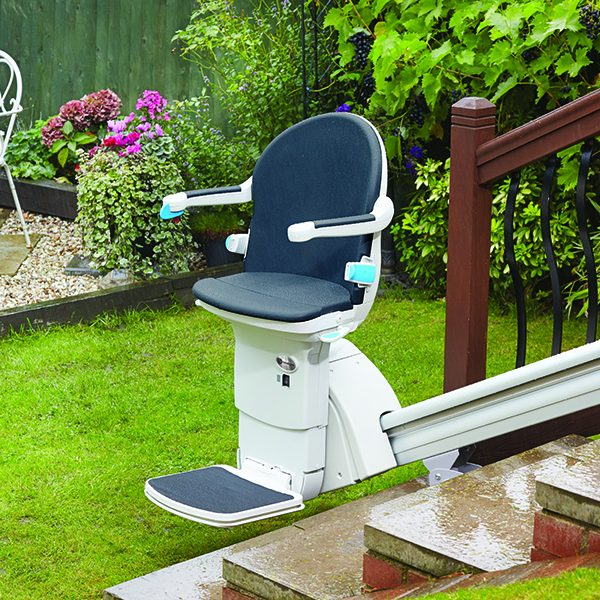 handicare 1000 outdoor straight stairlift from Central Mobility