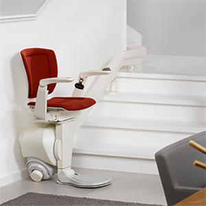 New curved stairlifts from Central Mobility